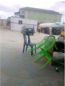 #EndSARS: Lagos Police replace burnt stations with containers, canopies