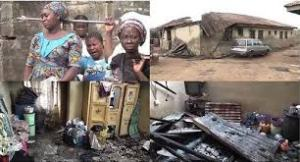 Mother and her four children died in fire accident caused by candlelight in Kwara State