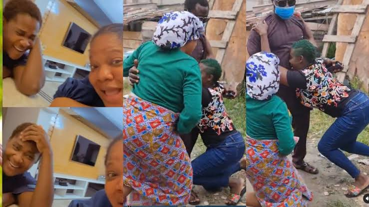 , 'Toyin taught me to always kneel down to greet my husband' – Mercy Johnson reveals (video), Effiezy - Top Nigerian News & Entertainment Website