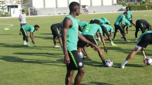 Super Eagles star arrive camp for AFCON qualifiers as training begins today