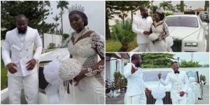 Singer Harrysong ties the knot with his boo (video)