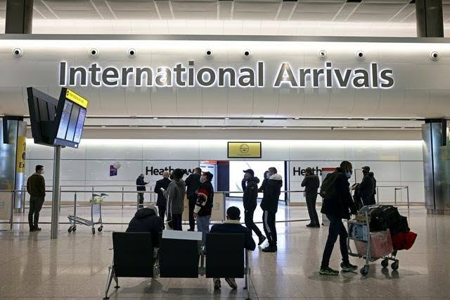 , Portugal, Mauritius taken off England's travel ban red list as four more countries are added on the list, Effiezy - Top Nigerian News & Entertainment Website