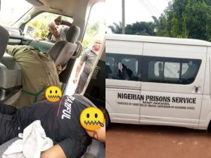 Officials of Nigerian prisons service murdered in Anambra (graphic photo)