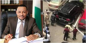 Justice Umar Danladi publicly assault and brutalizing security guard at Abuja plaza