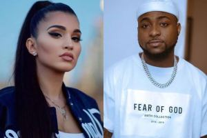No…i can never date Davido, he's my brother – American Singer Enisa says