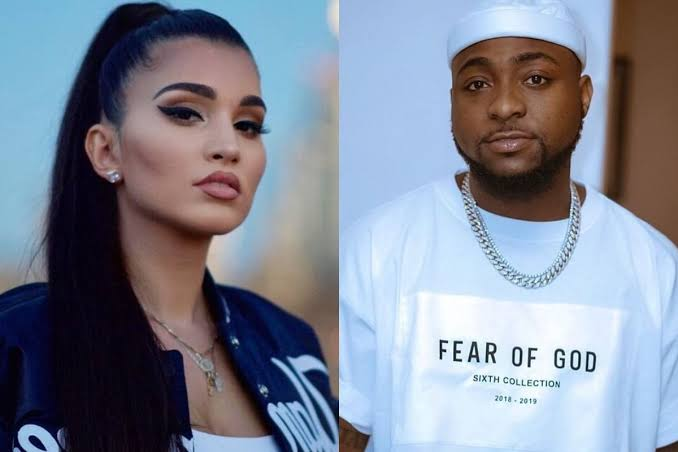 , No…i can never date Davido, he's my brother – American Singer Enisa says, Effiezy - Top Nigerian News & Entertainment Website