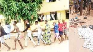 16 deadly cultists on revenge mission arrested, paraded in Kwara
