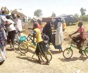 Over 100,000 flee to Niger Republic after Boko Haram attacks Borno town