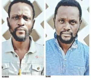 My twin brother forced me into crime – Robbery suspect