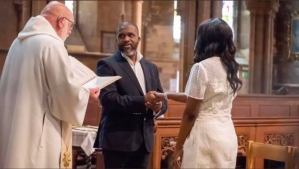 Couple remarries after over 10 years of separation, divorce