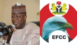EFCC arrests former Zamfara governor, Abdulaziz Yari for fraud
