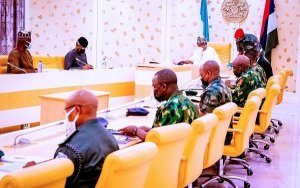Buhari chairs another crucial security meeting