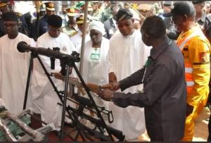 Army launches 1st Nigerian made AK-47 in Kaduna