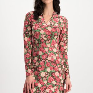 Jersey Dress Floral Tralee