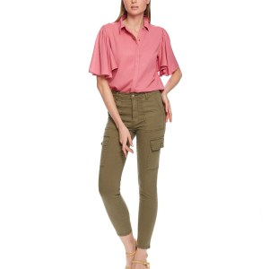 khaki cargo trousers pants