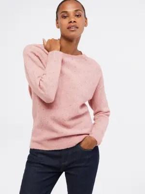 Whitestuff Pink Knit Jumper