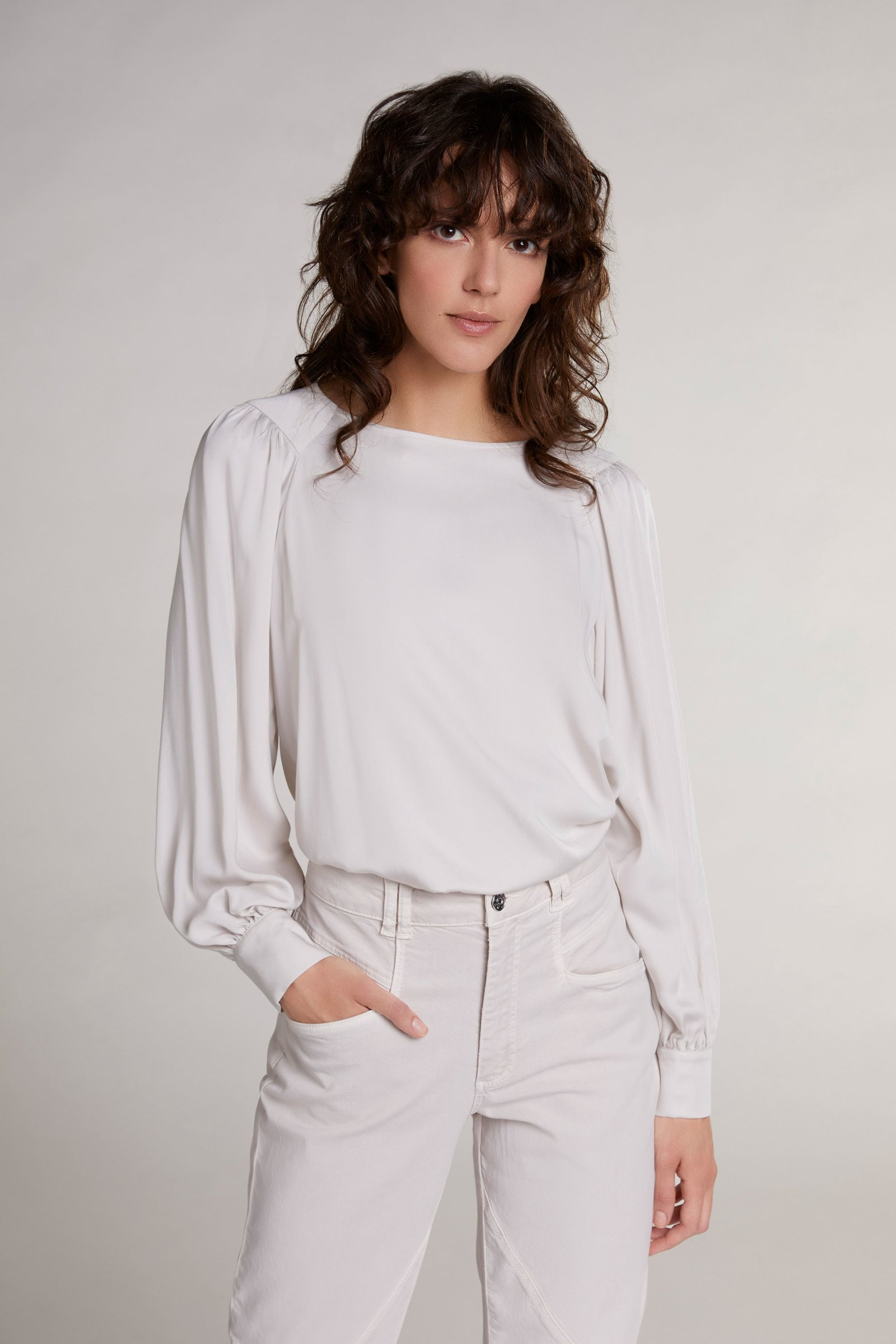 oui moonbeam blouse top Effigy