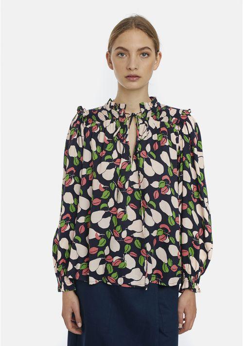 vintage style blouse top Effigy