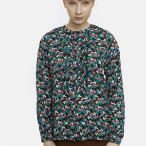 floral blouse top dressy Effigy