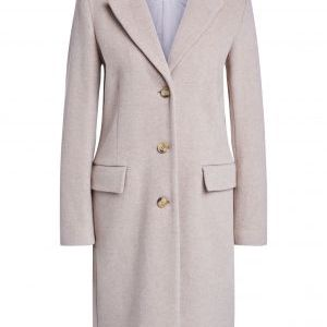oui taupe wool coat