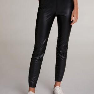 oui faux leather leggings