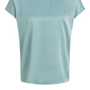 oui silky top blouse