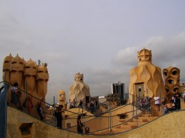 La Pedrera, Gaudi Tour in Barcelona