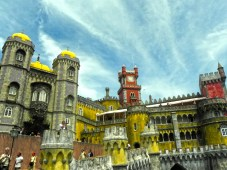 Pena Palace in Sintra- a day trip from Lisbon