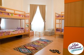 Dorm at the The Charming Little Bucharest Hostel