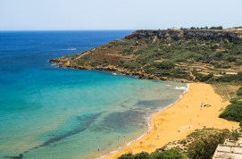 What to see in Malta: The splendid Ramla Bay in Gozo