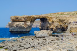 What to see in Malta: The Azure Window in Gozo