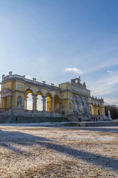 A visit to Schonbrunn in Vienna