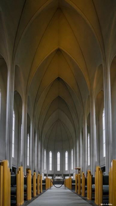 Hallgrímskirkja Church Inside