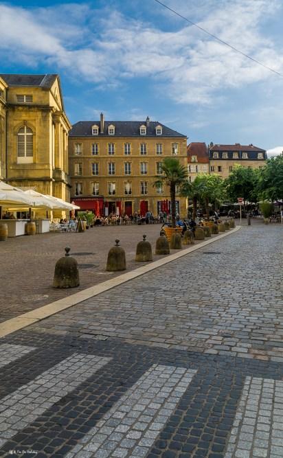 Old Town Of Metz