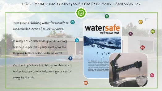 Water Safe - Test your drinking water