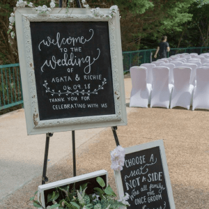 Save money on your wedding by making these DIY wedding signs. Pre-made signs, sand ceremony sets or centerpieces usually comes with a higher price.