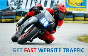get website traffic fast