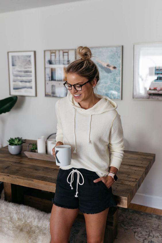 Outfit para estar en casa mujer