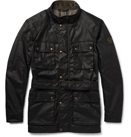 belstaff m65 jacket on effortless gent