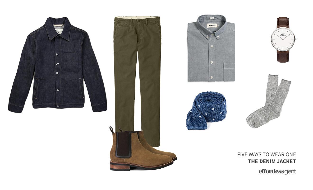 Five Ways to Wear One — Denim Jacket