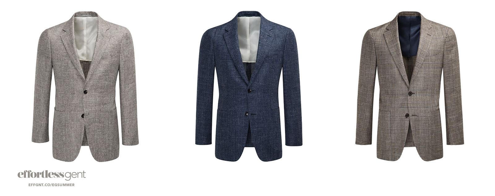 jackets - summer clothes for men - effortless gent
