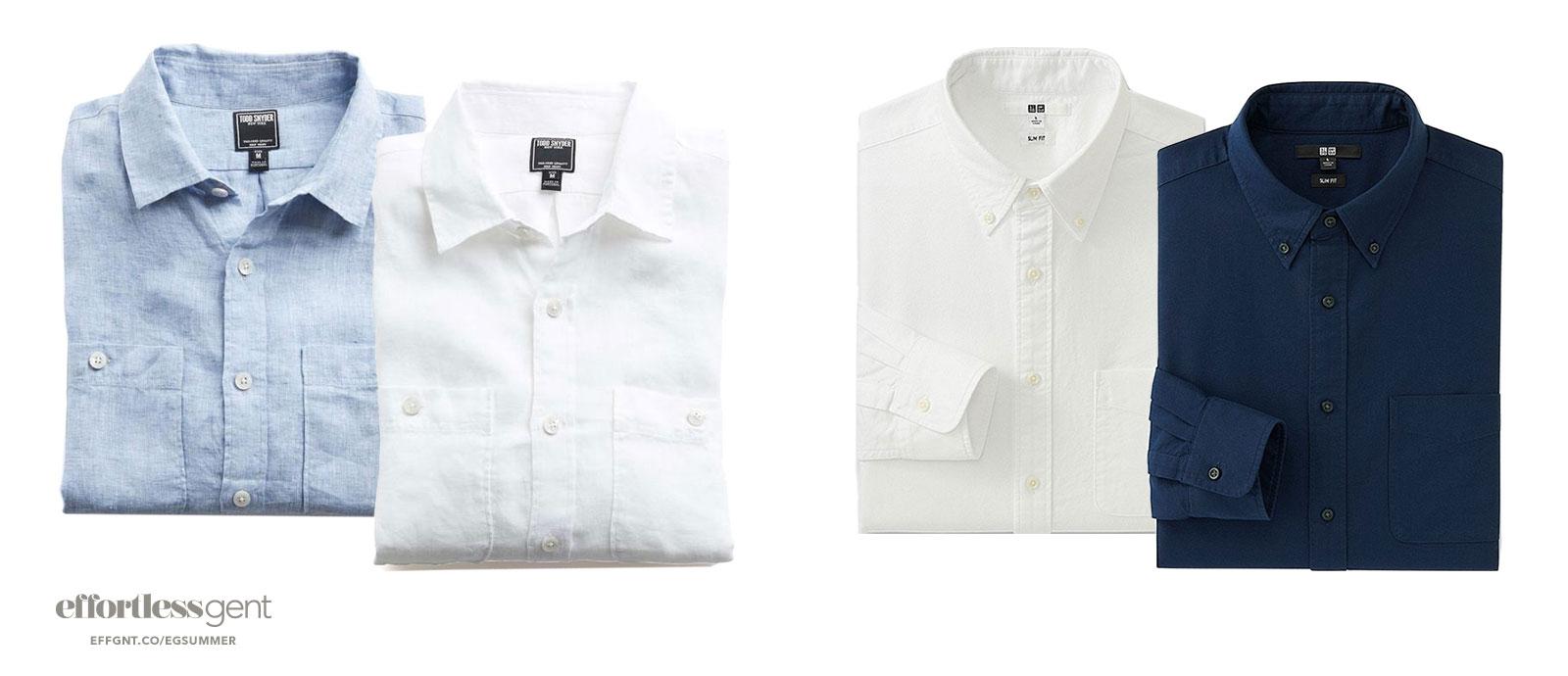 shirts - summer clothes for men - effortless gent