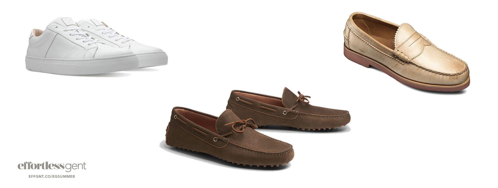 shoes - summer clothes for men - effortless gent