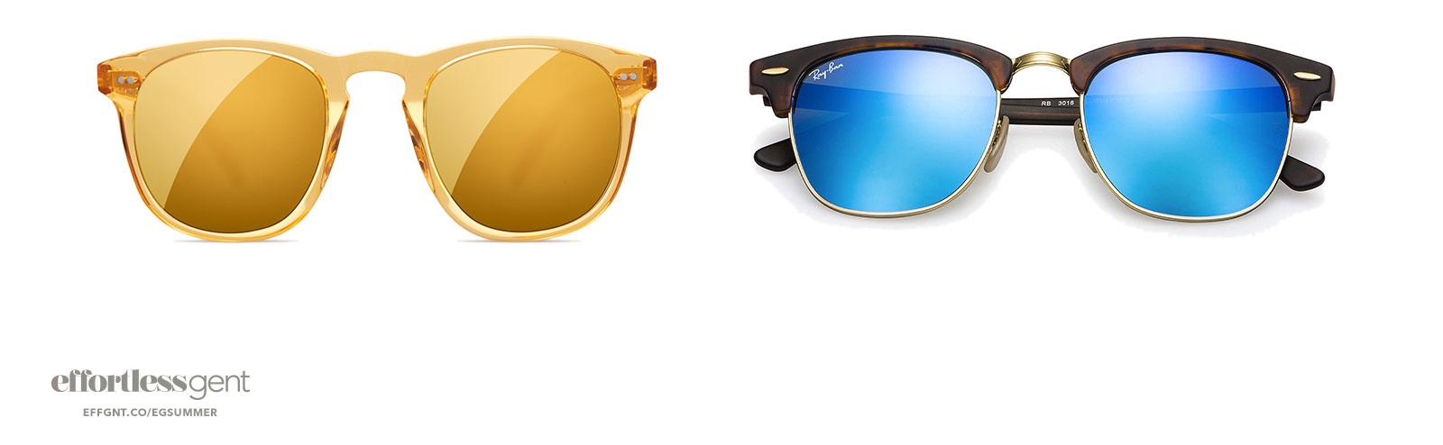 sunglasses - summer clothes for men - effortless gent