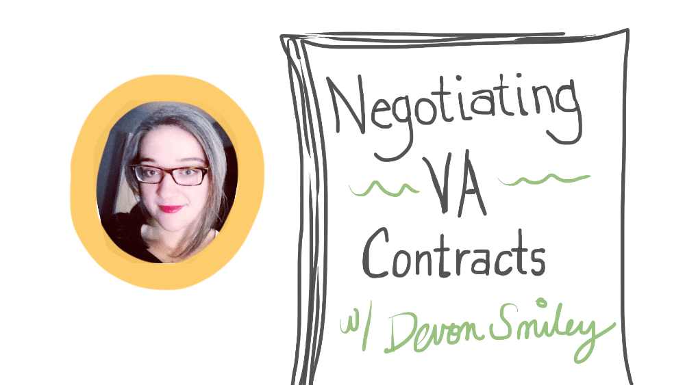 Negotiating Virtual Assistant Contracts with Devon Smiley