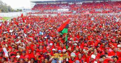 EFF Western Cape Rally – the day in Pictures