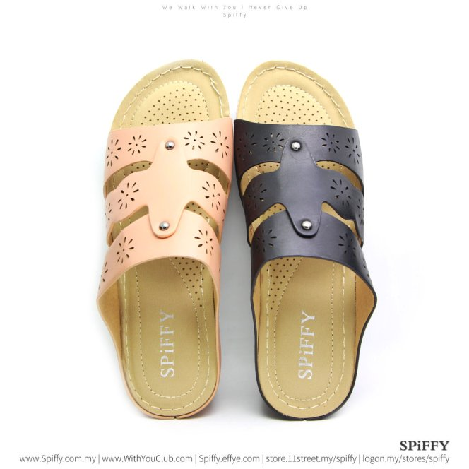 fashion-modern-malaysia-kuala-lumpur-shoes-sandals-%e4%bc%91%e9%97%b2%e9%9e%8b-spiffy-brand-ct3407-mix-colour-shoe-ladies-lady-leather-high-heels-shoes-comfort-wedges-sandal-%e5%a8%83%e5%a8%83