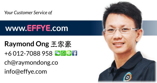Raymond Ong Effye Media Selangor Website Design Online Media Advertising Web Development Education Webpage Facebook eCommerce Management Photo Shooting Malaysia NC01