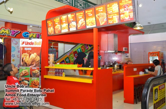 Popcorn Chicken Uncle Bob Fried Chicken Waffle Fast Food Batu Pahat Johor Malaysia Amos Food Enterprise Food and Beverages The Summit Parade Batu Pahat A05