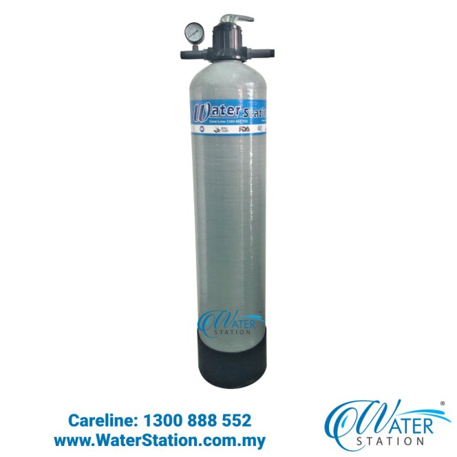 Water Filter Outdoor Master Fiber Glass Water Filter 1044 Grey Outdoor Water Purifier Water Station Whole House Filtration Malaysia A01